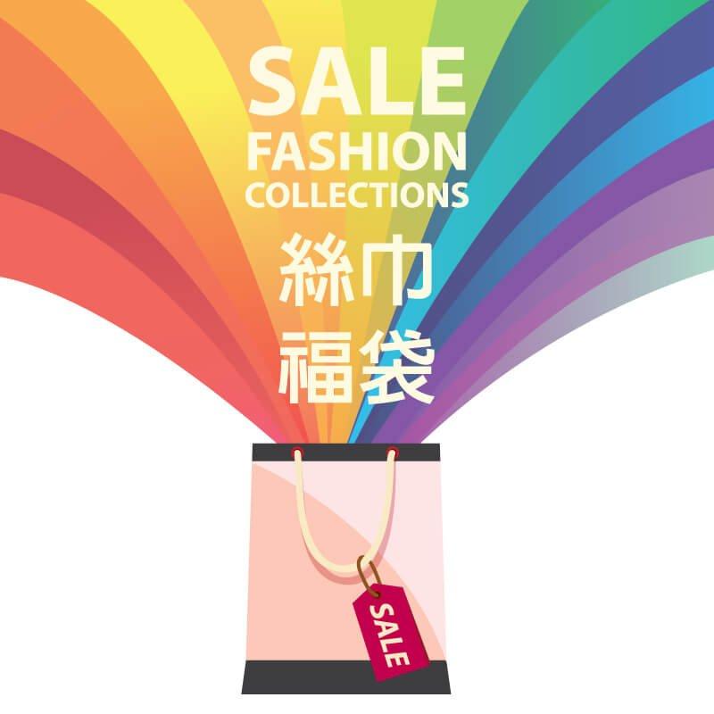 §獨具衣格§ 日本直送 超值包 絲巾福袋(三件組) 隨機出貨/不挑款