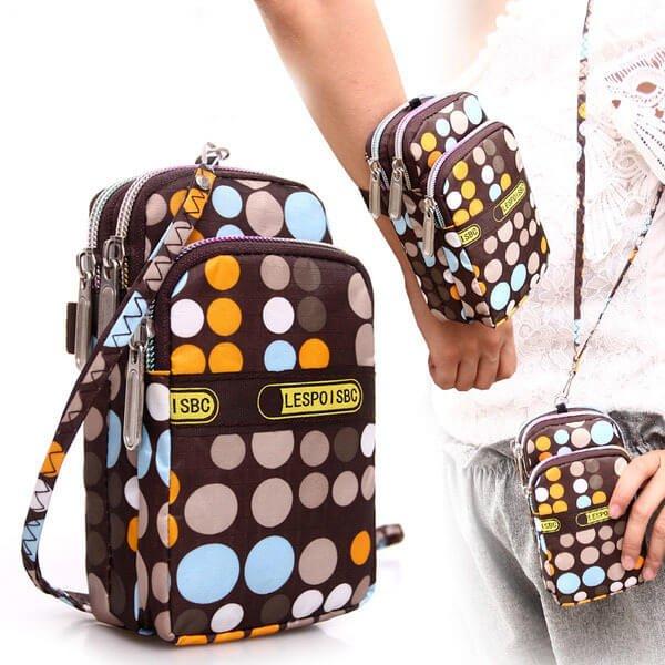 §獨具衣格§ 日本直送 H157 三層手機包 小包 可肩背 手拿