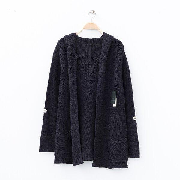 §獨具衣格§ 日本直送 2075 日本製 毛料連帽針織外套樣本