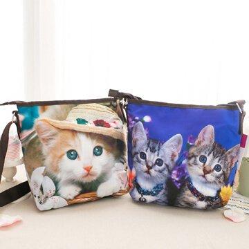 §獨具衣格§日本大阪直送H029可愛小貓側背包 肩背包