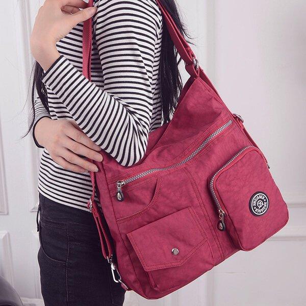 §獨具衣格§ 日本直送 H150 超大容量 輕量 側背包 後背包 防潑水