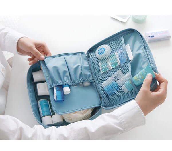 §獨具衣格§ 日本直送 H151 韓國 出差旅行化妝品分類收納包