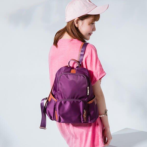 §獨具衣格§ H285 科技感 輕量防潑水後背包
