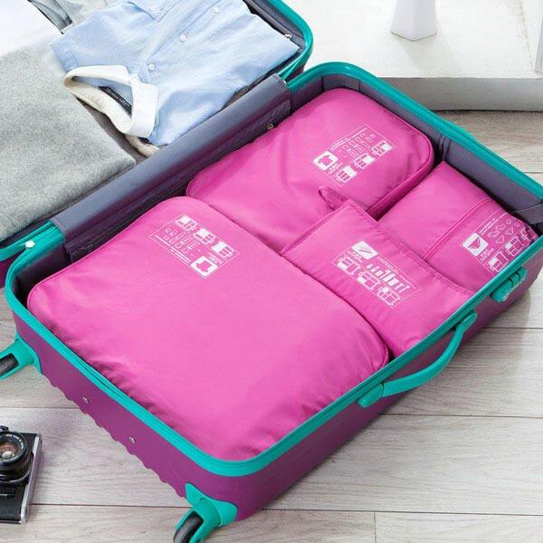 §獨具衣格§ H289 旅行專用整理袋一整組四件