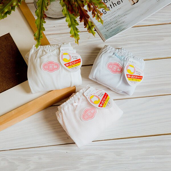 §獨具衣格§ H307 日本製 純棉 素面包邊內褲