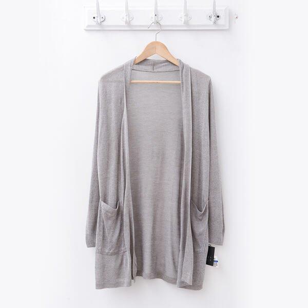 §獨具衣格§ 日本直送 2098 素雅針織罩衫樣本-中大尺碼