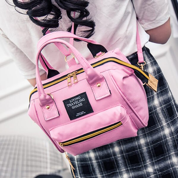 §獨具衣格§ H363 日系超熱賣 大容量 三背法 側背包 手提包 後背包