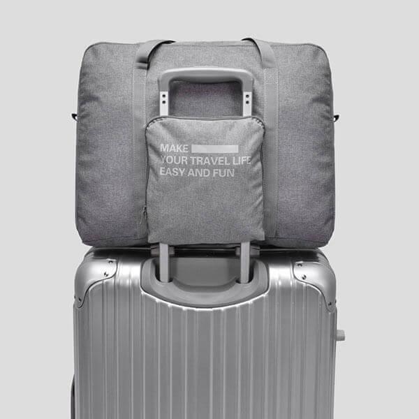 §獨具衣格§ H369 新款 可摺疊收納旅行包 可放置於行李箱上